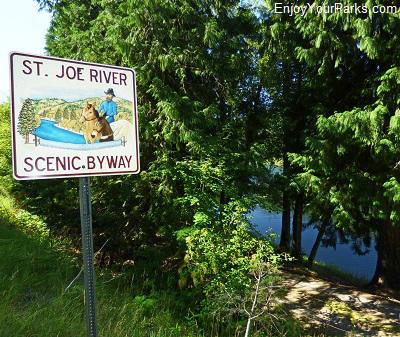 St. Joe River Scenic Byway, Idaho
