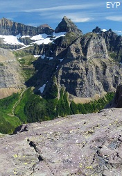 Thunderbird Mountain, Boulder Pass Trail, Glacier National Park