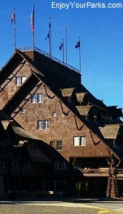 Old Faithful Inn, Yellowstone Park, Wyoming