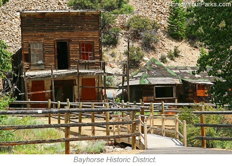 Bayhorse Historic District, Salmon River Scenic Byway
