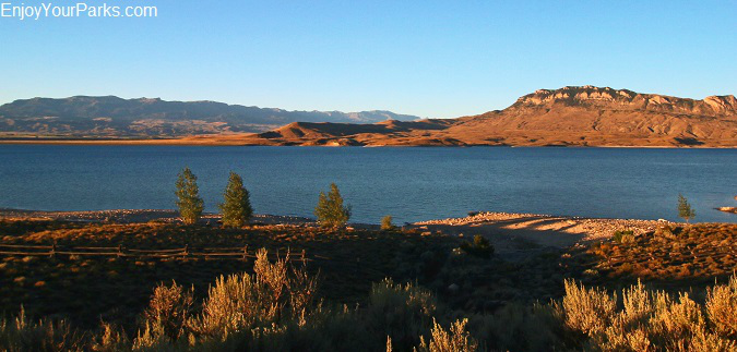 Buffalo Bill Reservoir and Buffalo Bill State Park, Wyoming