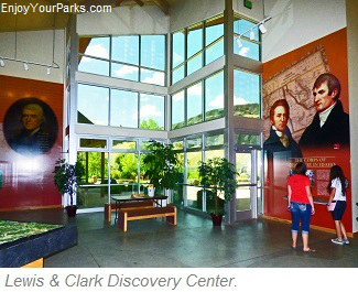 Lewis and Clark Discovery Center, Hells Gate State Park, Idaho