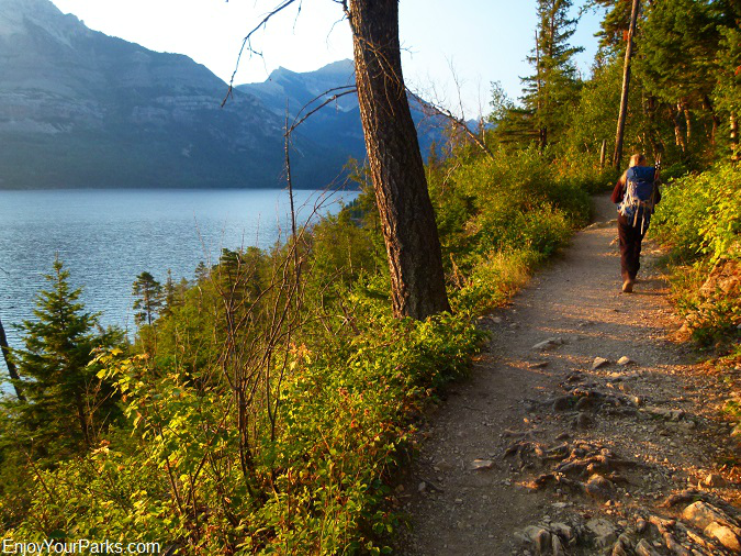 Bertha Lake Trail, Waterton Lakes National Park