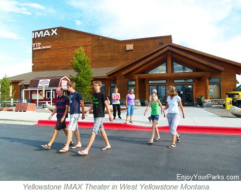 Yellowstone IMAX Theater, West Yellowstone Montana, Yellowstone National Park