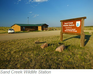 Sand Creek Wildlife Station, Charles M. Russell National Wildlife Refuge