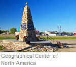 Geographical Center of North American, Rugby, North Dakota