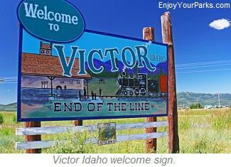 Victor Idaho, Teton Scenic Byway