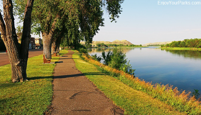 River Walk, Fort Benton Montana