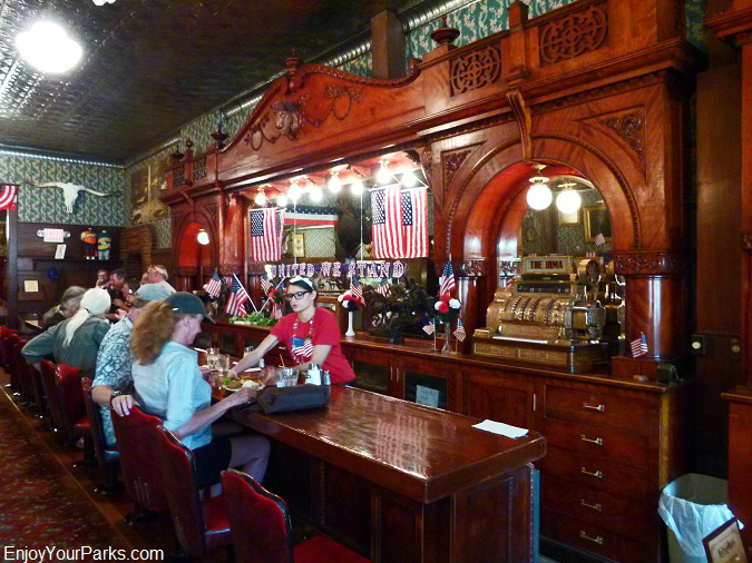 Cherrywood Bar, Irma Hotel, Cody Wyoming
