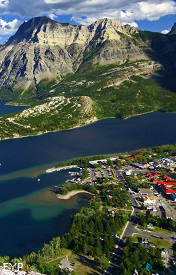 View from Bears Hump, Waterton Lakes National Park