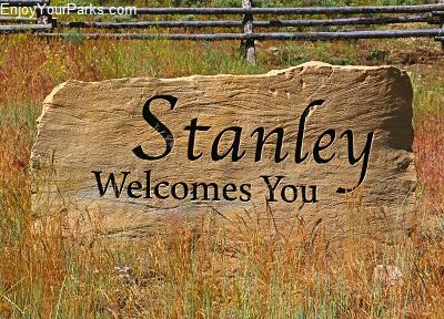 Stanley Idaho, Salmon River Scenic Byway, Idaho