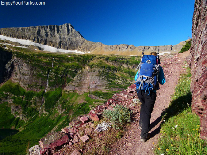 Triple Divide Pass Trail, Glacier National Park