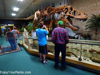 Makoshika Dinosaur Museum, Glendive Montana
