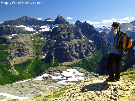 Thunderbird Mountain, Boulder Pass Overlook, Glacier National Park