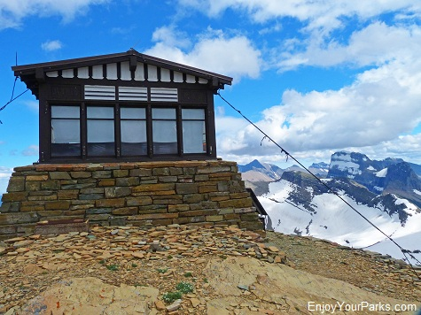Swiftcurrent Mountain Lookout , Glacier National Park
