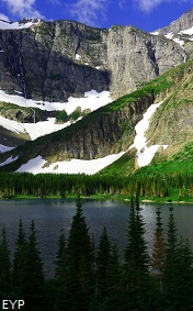 Bullhead Lake, Swiftcurrent Pass Trail, Glacier National Park