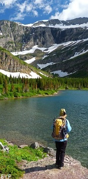 Bullhead Lake, Swiftcurrent Pass Trail, Glacier National Park