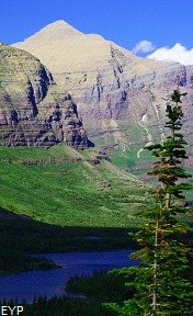 Mount Henkel, Swiftcurrent Pass Trail, Glacier National Park