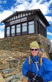 Swiftcurrent Mountain Lookout, Granite Park Chalet, Glacier National Park