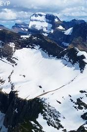 Swiftcurrent Glacier, Swiftcurrent Pass Trail, Glacier National Park