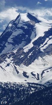 Heavens Peak, Granite Park Chalet, Glacier National Park