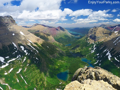 Swiftcurrent Mountain, Granite Park Chalet, Glacier National Park