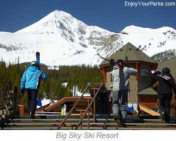 Big Sky Ski Resort, Montana