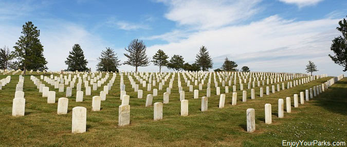 Custer National Cemetery, Little Bighorn Battlefield National Monument Montana