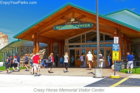 Crazy Horse Memorial Visitor Center, Black Hills, South Dakota