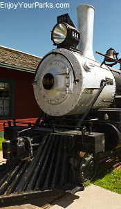 Steam Engine, Bonanzaville USA, North Dakota