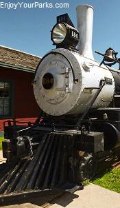 Steam Engine, Bonanzaville USA, North Dakota