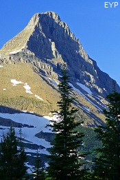 Grinnnell Mountain, Iceberg Lake Trail, Glacier National Park