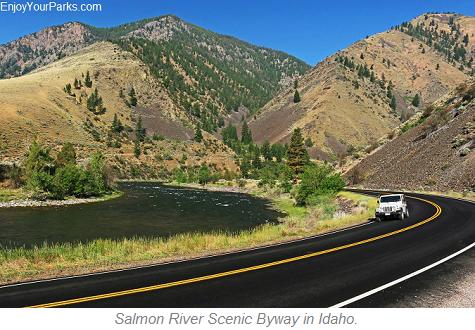 Salmon River Scenic Byway, Idaho
