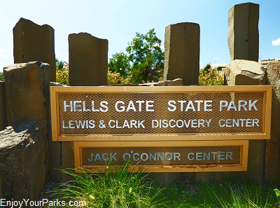 Hells Gate State Park, Lewiston Idaho