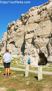 Register Cliff State Historical Site, Wyoming