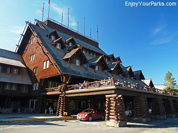 Old Faithful Inn, Yellowstone National Park Montana