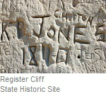 Register Cliff State Historic Site
