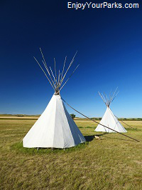 Tepees, North Dakota