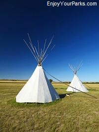 Tepees, North Dakota