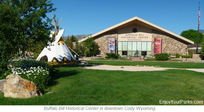 Buffalo Bill Historical Center, Cody Wyoming, Yellowstone National Park