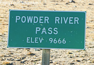 Powder River Pass, Cloud Peak Skyway Scenic Byway, Wyoming