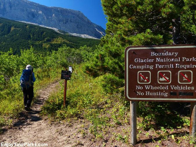 Slide Lake Trail, Glacier National Park