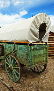 Covered Wagon, Fort Hall Replica, Idaho