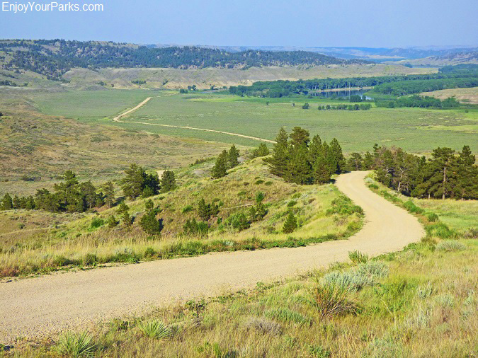 The Road to Slippery Ann Elk Viewing Area, Charles M. Russell National Wildlife Refuge