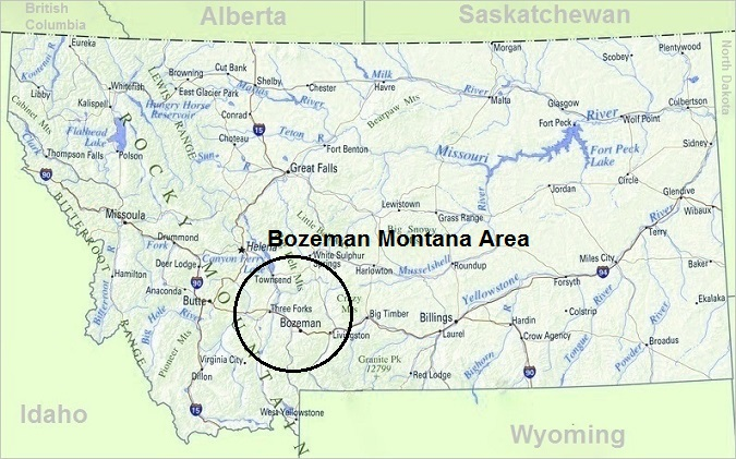 Map of Montana, Top Things To Do In Montana
