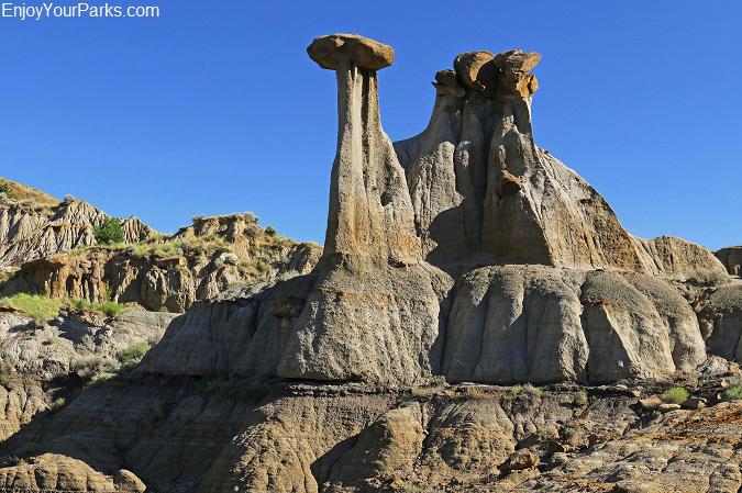 Cap Rocks, Makoshika State Park Montana