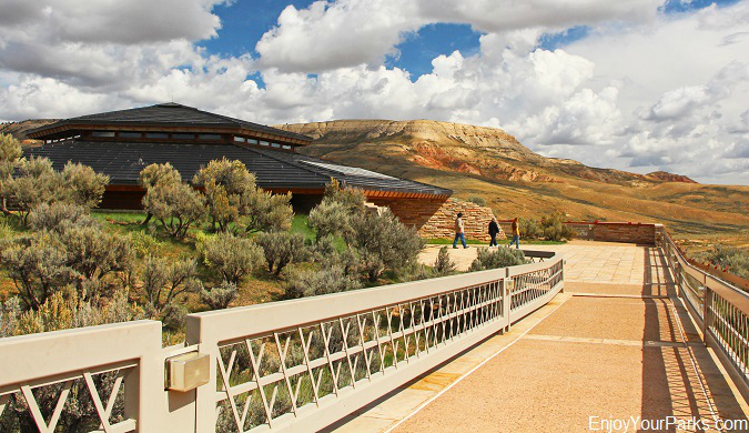 Fossil Butte Visitor Center, Fossil Butte National Monument, Wyoming