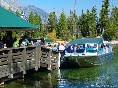 Jenny Lake Boat Shuttle, Jenny Lake, Grand Teton National Park