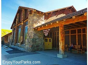 Old Faithful Lodge, Yellowstone National Park
