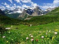 Brown Pass, Glacier Park